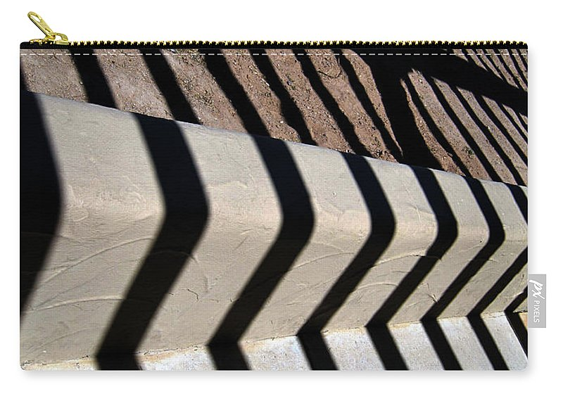 Photography Carry-all Pouch featuring the photograph Not A Zebra by Susanne Van Hulst