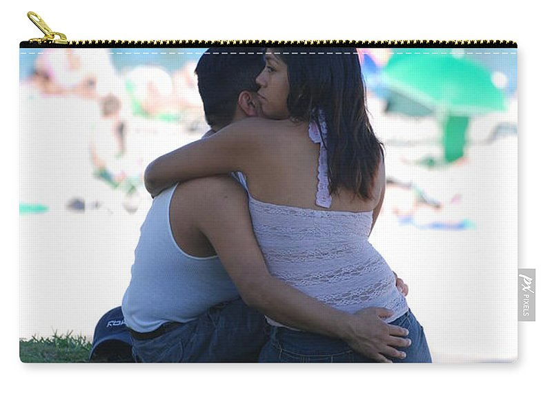 People Carry-all Pouch featuring the photograph Not Married by Rob Hans