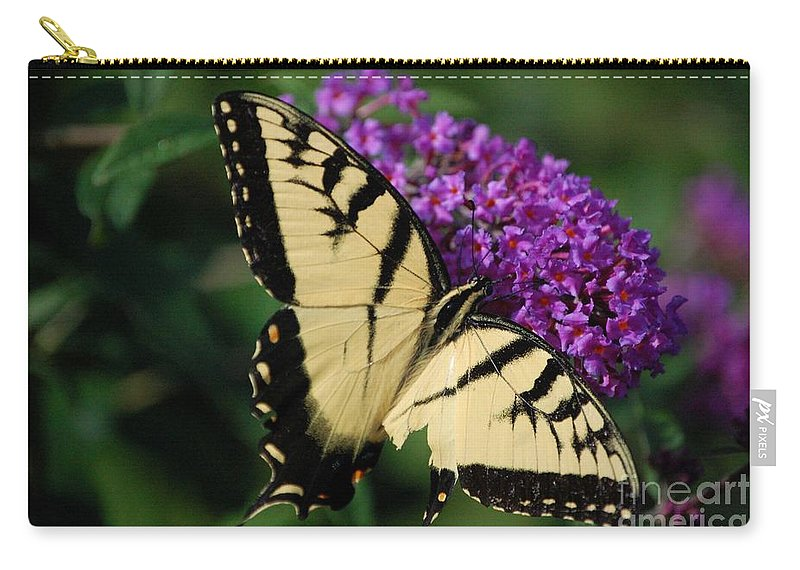 Butterfly Carry-all Pouch featuring the photograph Nothing Is Perfect by Debbi Granruth