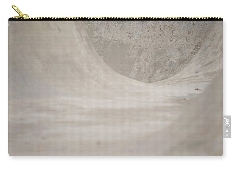 Color Carry-all Pouch featuring the photograph November Skatescape #5 by Kirk Griffith