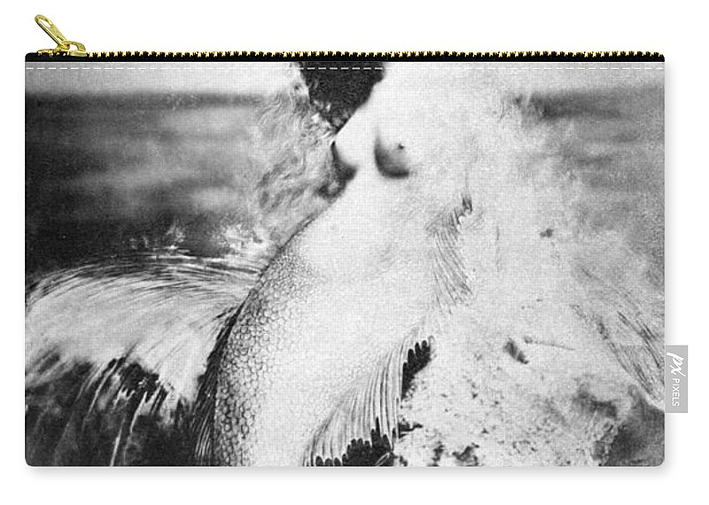 Carry-all Pouch featuring the painting Nude As Mermaid, 1898 by Granger