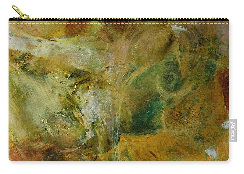 Nude Carry-all Pouch featuring the painting Nude by Rome Matikonyte