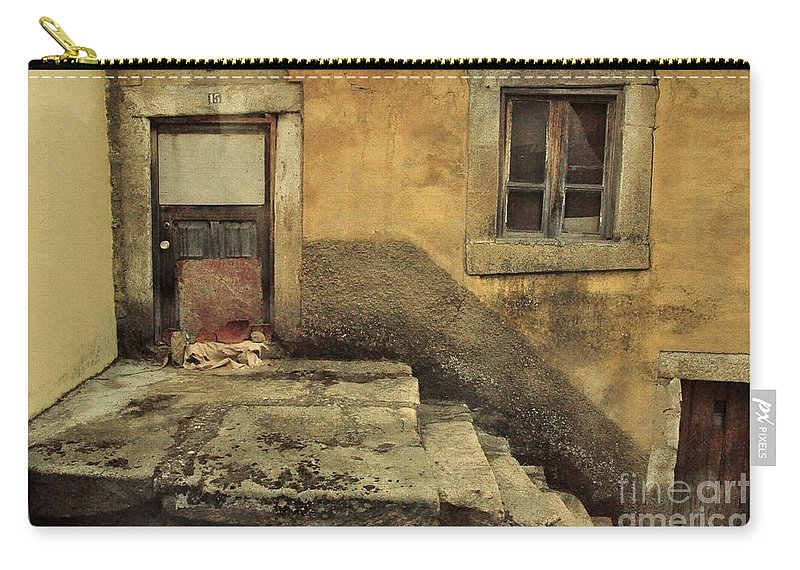 Castelo Rodrigo Carry-all Pouch featuring the photograph Number 15 by Csilla Florida
