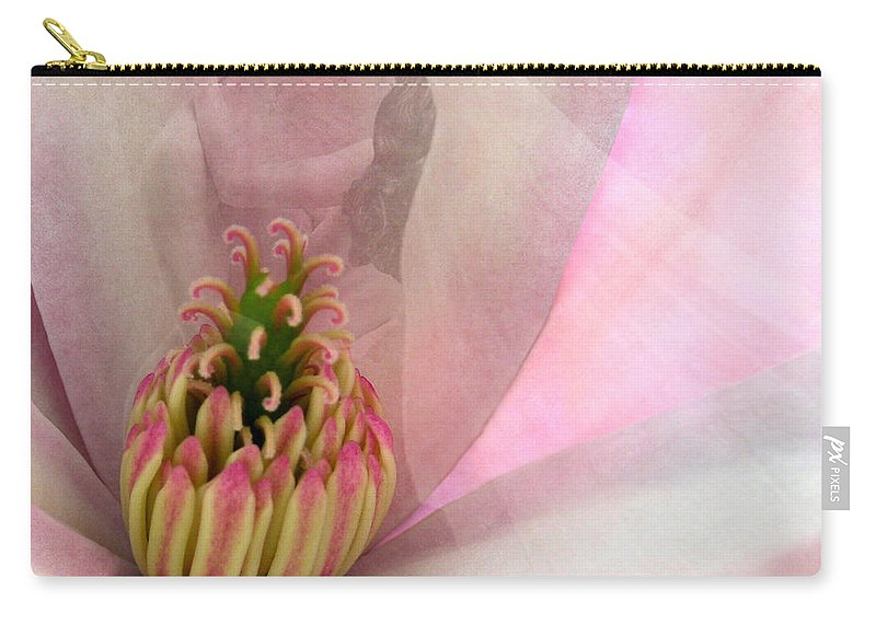 Fleurotica Art Carry-all Pouch featuring the digital art Nuptial by Torie Tiffany