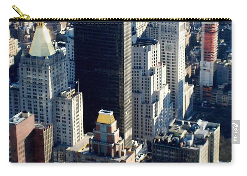 Nyc Carry-all Pouch featuring the photograph Nyc 2 by Anita Burgermeister