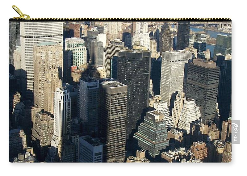 Nyc Carry-all Pouch featuring the photograph Nyc 3 by Anita Burgermeister
