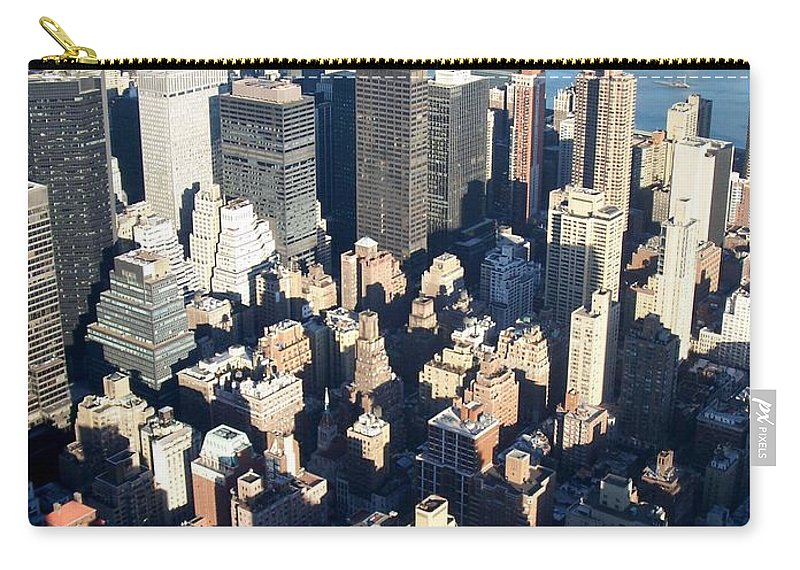 Nyc Carry-all Pouch featuring the photograph Nyc 4 by Anita Burgermeister