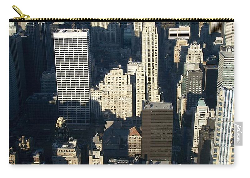 Nyc Carry-all Pouch featuring the photograph Nyc 5 by Anita Burgermeister