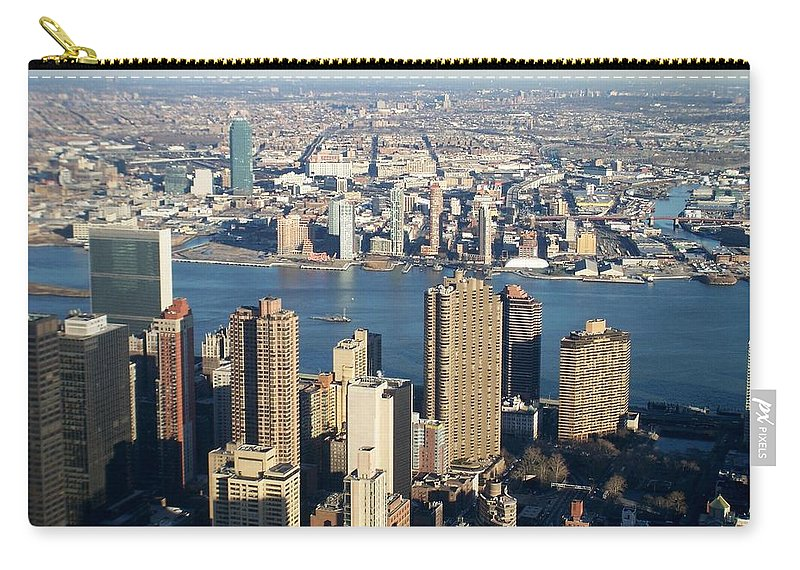 Nyc Carry-all Pouch featuring the photograph Nyc 6 by Anita Burgermeister