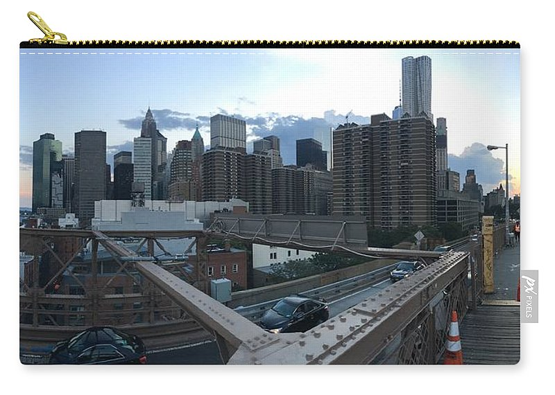 Carry-all Pouch featuring the photograph NYC by Ashley Torres