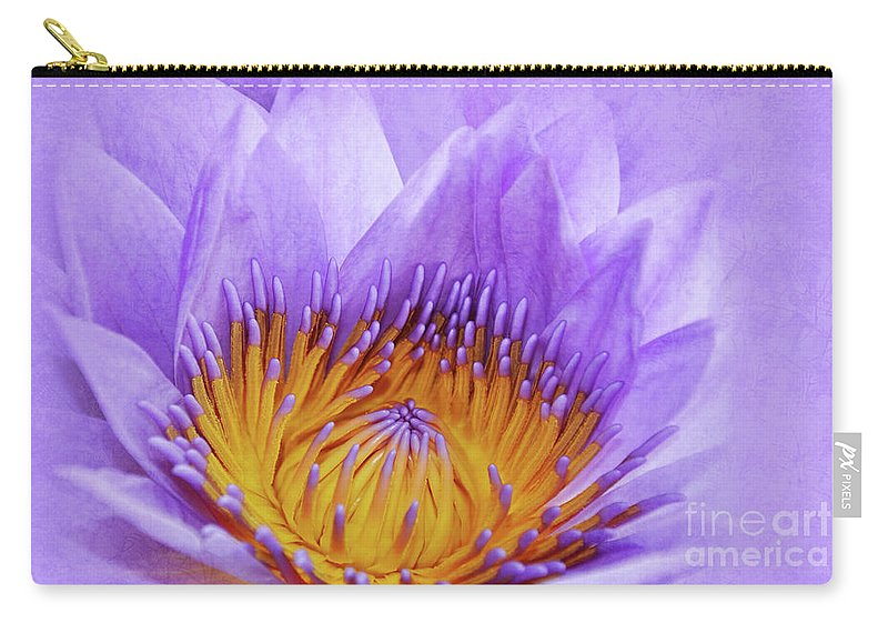 Water Lily Carry-all Pouch featuring the photograph Nymphea by Delphimages Photo Creations