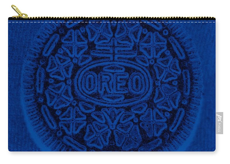 Oreo Carry-all Pouch featuring the photograph O R E O In Blue by Rob Hans