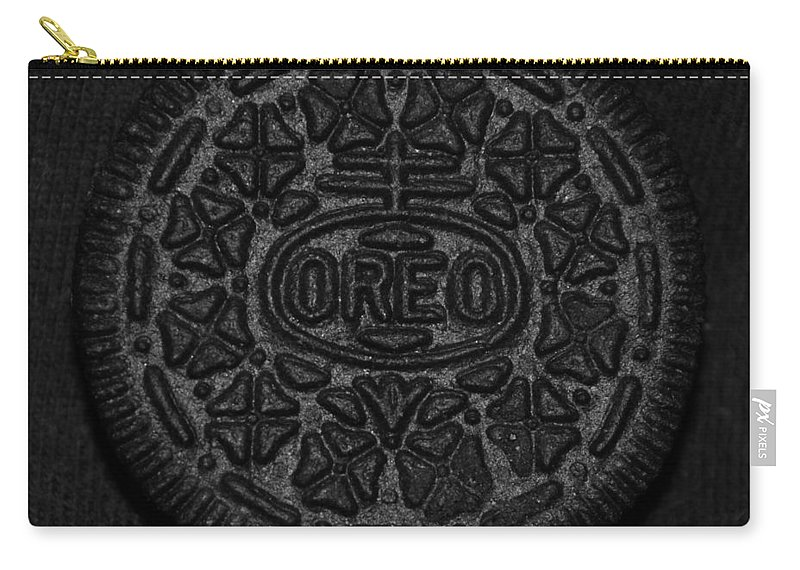 Oreo Carry-all Pouch featuring the photograph O R E O by Rob Hans