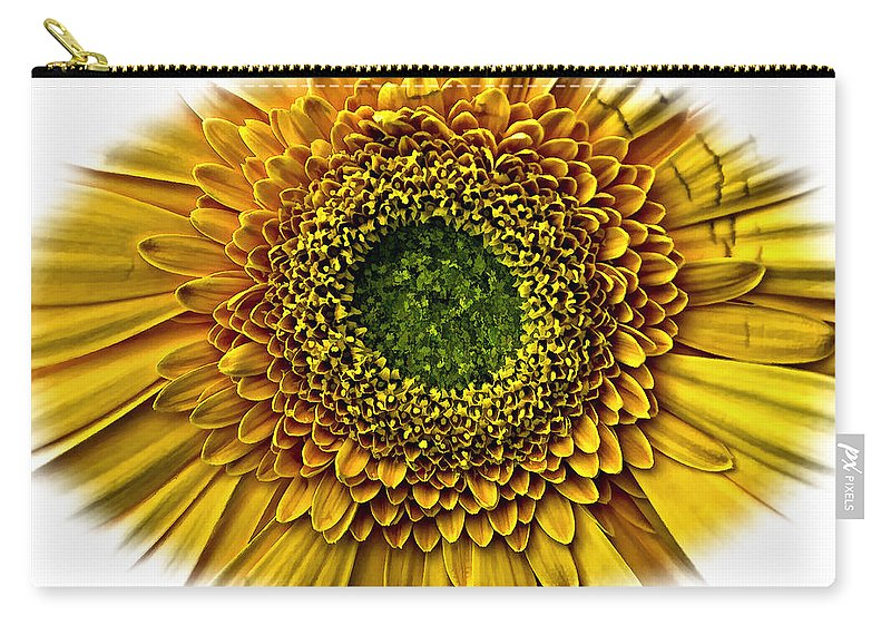 Floral Carry-all Pouch featuring the photograph O by Steve Harrington