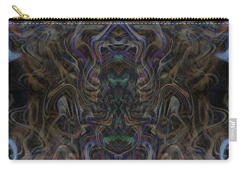 Deep Carry-all Pouch featuring the digital art Oa-4630 by Standa1one