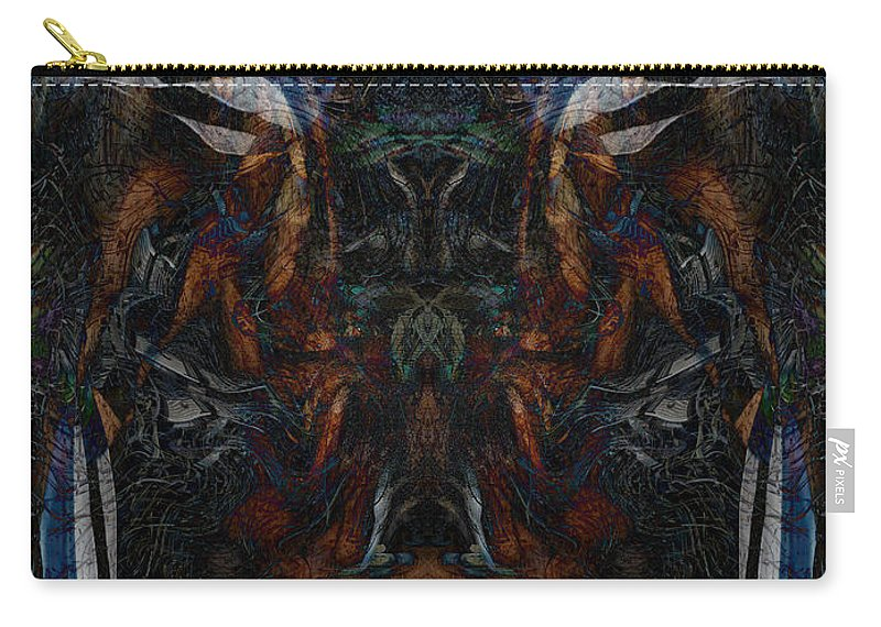 Deep Carry-all Pouch featuring the digital art Oa-4895 by Standa1one