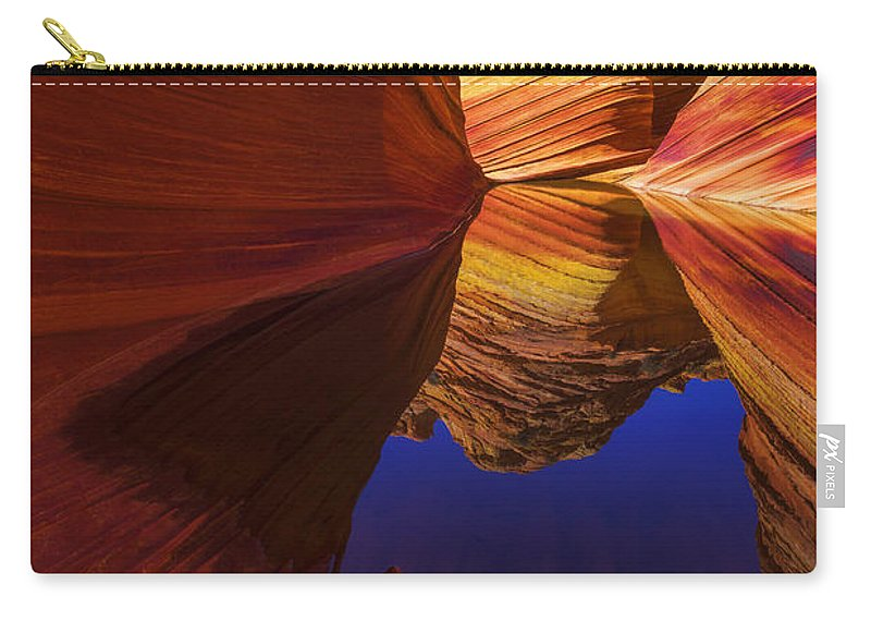 Oasis Carry-all Pouch featuring the photograph Oasis by Chad Dutson