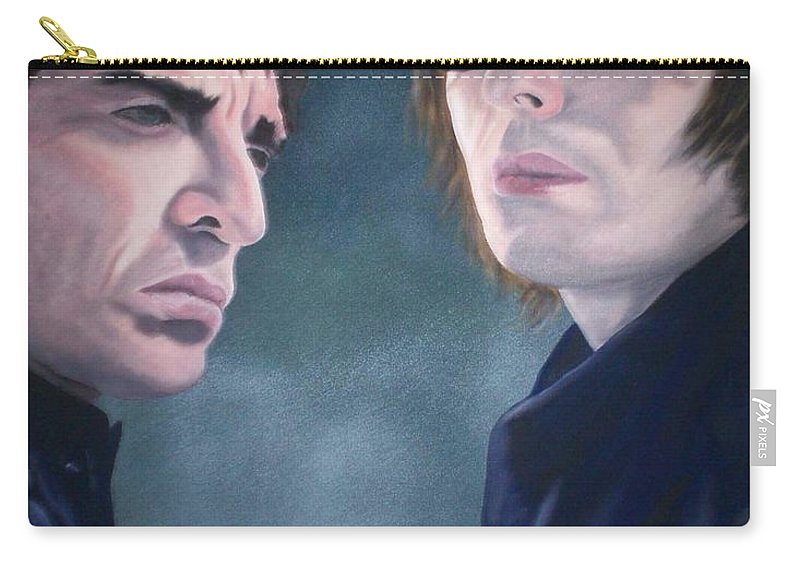 Oasis Carry-all Pouch featuring the painting Oasis by Gary Hogben