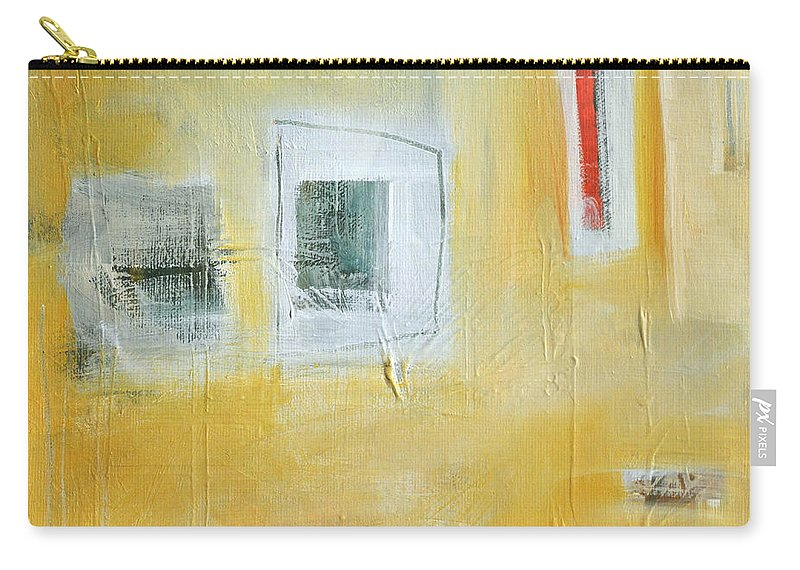 Abstract Carry-all Pouch featuring the painting Oasis by Tim Nyberg