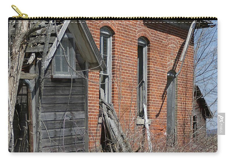 Old Buildings Carry-all Pouch featuring the photograph Object by Bjorn Sjogren