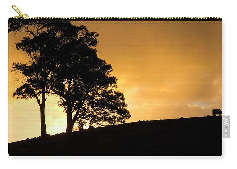 Hills Carry-all Pouch featuring the photograph Oblivious by Mike Dawson