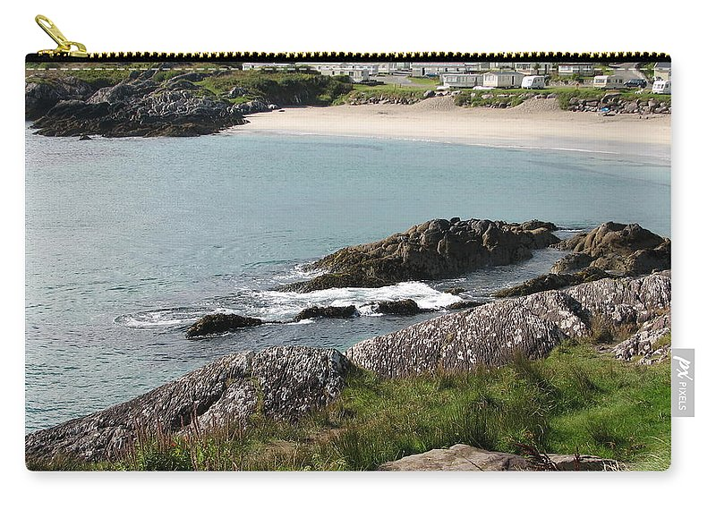 Kerry Carry-all Pouch featuring the photograph O'carrol's Cove by Kelly Mezzapelle