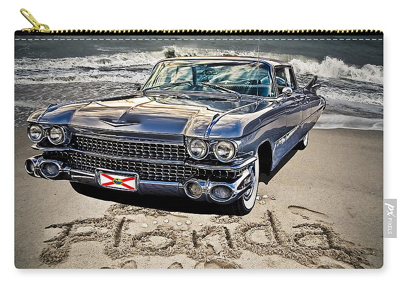 Cadillac Carry-all Pouch featuring the photograph Ocean Drive by Joachim G Pinkawa