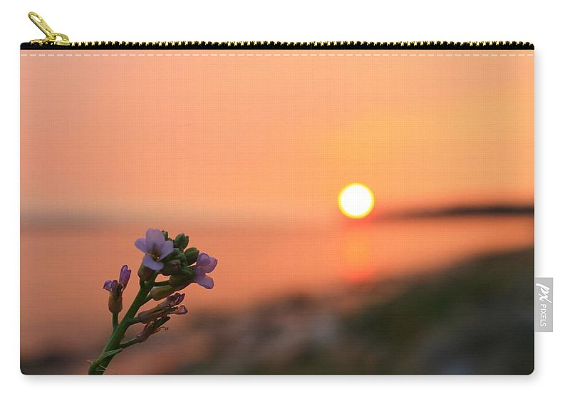 Landscape Carry-all Pouch featuring the photograph Ocean Fever by Margre Flikweert