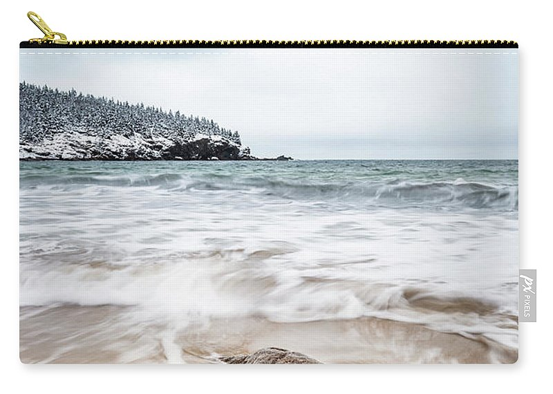 Kremsdorf Carry-all Pouch featuring the photograph Ocean Flows by Evelina Kremsdorf