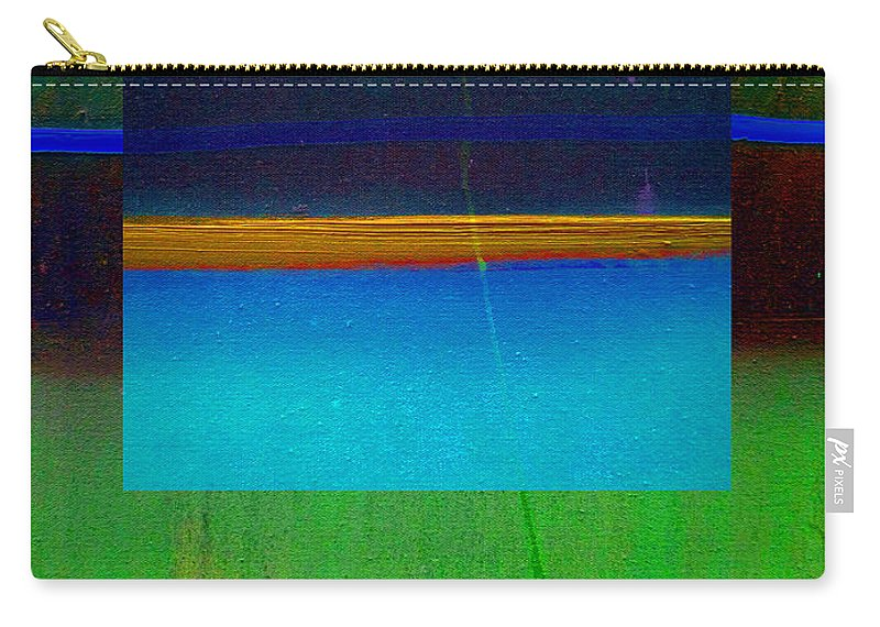 Landscape Carry-all Pouch featuring the painting Ocean Light by Charles Stuart