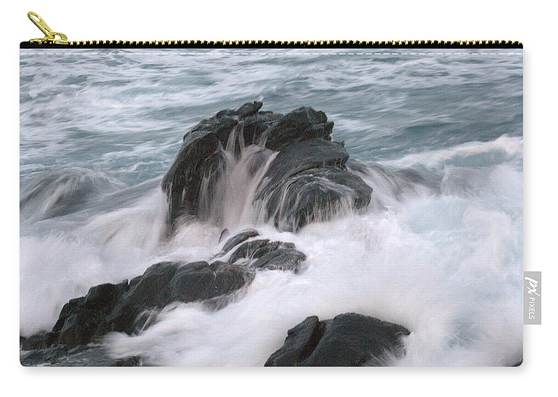 Ocean Carry-all Pouch featuring the photograph Ocean Sent by Thomas Sexton