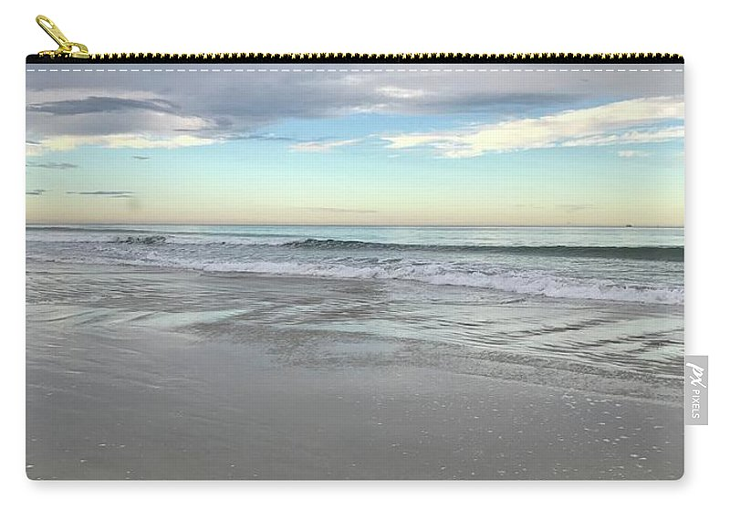 Sunset Carry-all Pouch featuring the photograph Ocean Sunset by Jennifer Stark