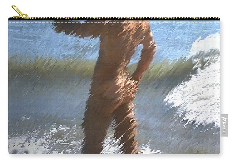 Nudes Carry-all Pouch featuring the photograph Ocean Thoughts by Kurt Van Wagner