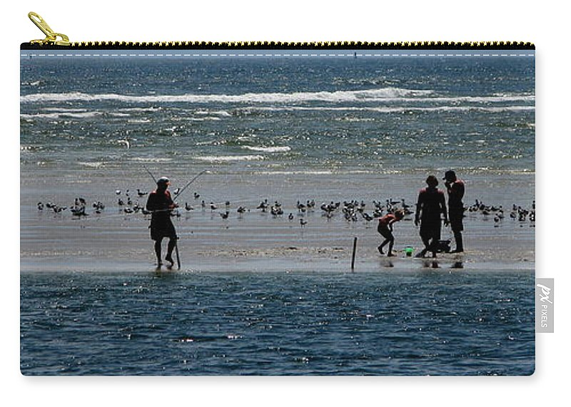 Atlantic Ocean Carry-all Pouch featuring the photograph Ocean Way by Greg Patzer