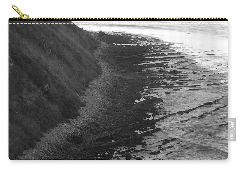 Beaches Carry-all Pouch featuring the photograph Oceans Edge by Shari Chavira