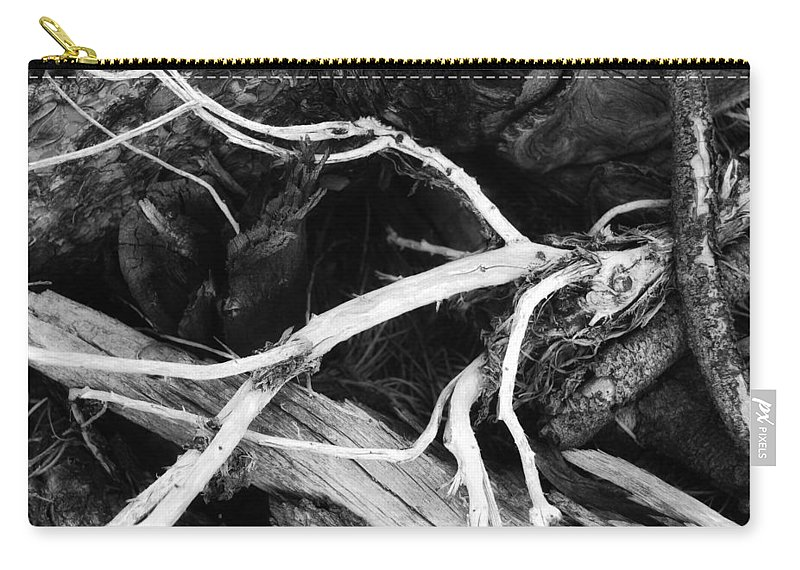 Wood Carry-all Pouch featuring the photograph Octopuss by Donna Blackhall