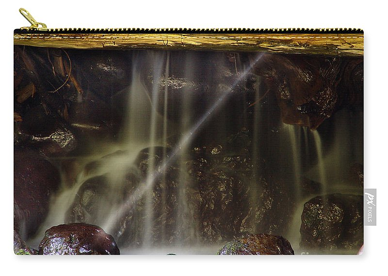 Water Trickle Carry-all Pouch featuring the photograph Of Light And Mist by Peter Piatt