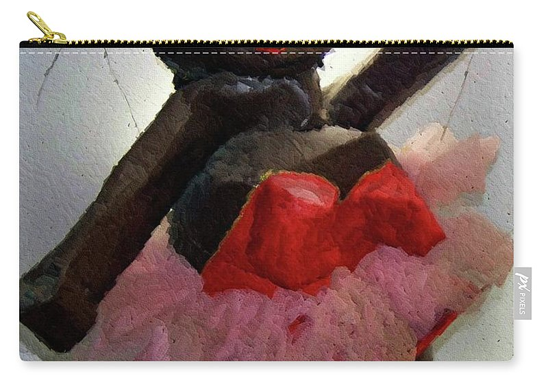 Paper Mache Carry-all Pouch featuring the photograph Oh Baby by Debbi Granruth