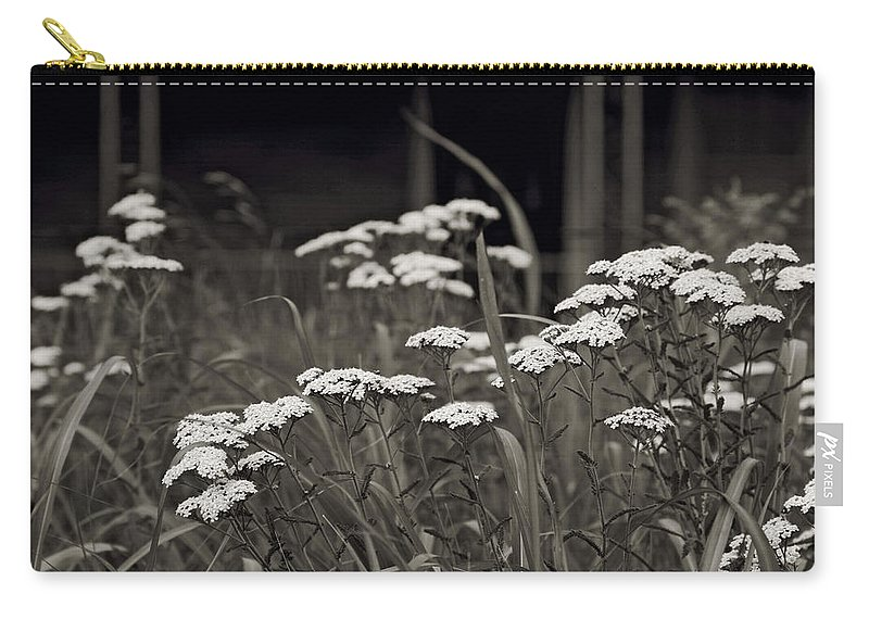 Flowers Carry-all Pouch featuring the photograph Oklahoma Prairie Flowers by Toni Hopper