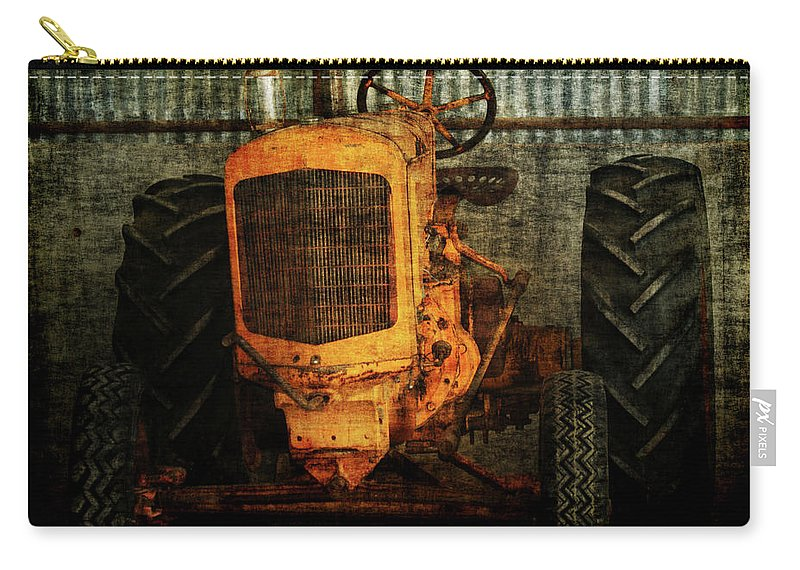 Tractors Carry-all Pouch featuring the photograph Ol Yeller by Ernie Echols