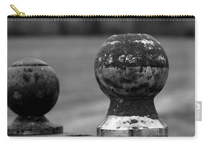 Ball Carry-all Pouch featuring the photograph Old And New by Karen Harrison