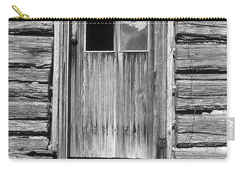 Aged Carry-all Pouch featuring the photograph Old Door by Richard Rizzo
