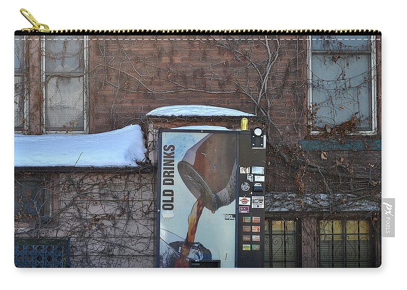 Drinks Carry-all Pouch featuring the photograph Old Drinks by Tim Nyberg