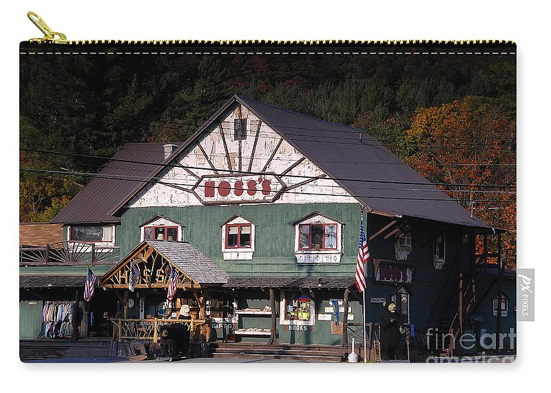 Old Store Carry-all Pouch featuring the photograph Old Hoss's by David Lee Thompson