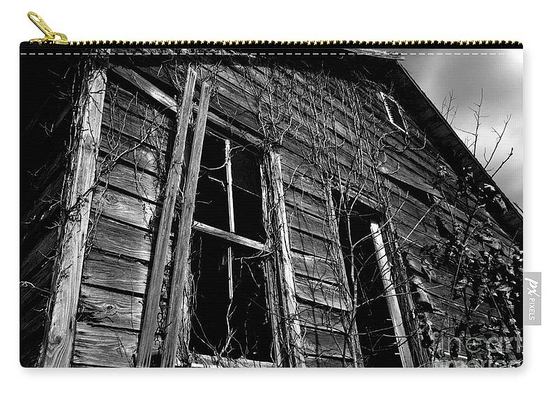 old House Carry-all Pouch featuring the photograph Old House by Amanda Barcon