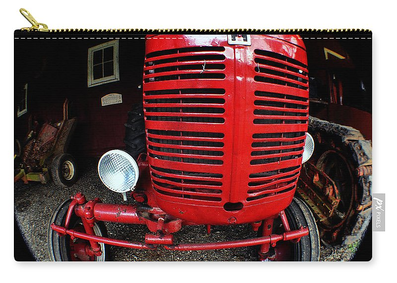 Clay Carry-all Pouch featuring the photograph Old International Harvester Tractor by Clayton Bruster