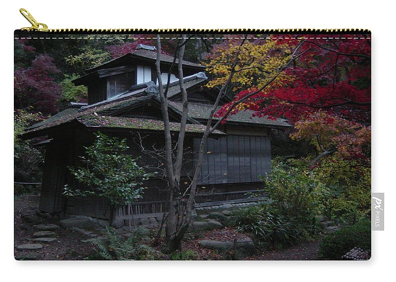 Fall Carry-all Pouch featuring the photograph Old Japan by D Turner
