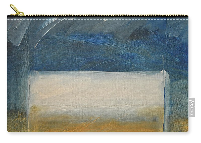 Rothko Carry-all Pouch featuring the painting Old Macrothko Had A Farm by Tim Nyberg