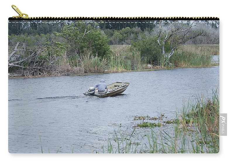 River Carry-all Pouch featuring the photograph Old Man River by Rob Hans