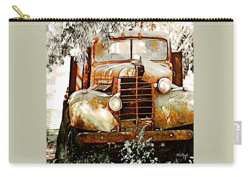 Transportation Carry-all Pouch featuring the photograph Old Memories Never Die by Holly Kempe